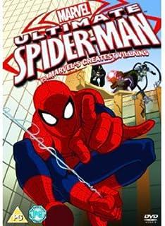 Ultimate Spider Man Vol 1 4 Box Set Dvd Amazon Co Uk Dvd Blu Ray