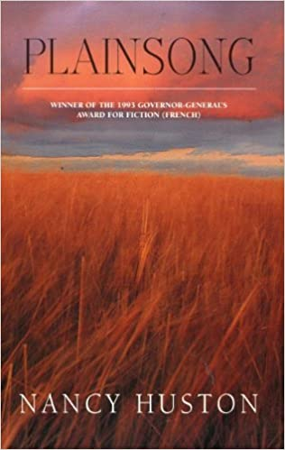 Plainsong by Nancy Huston (1993-12-08)