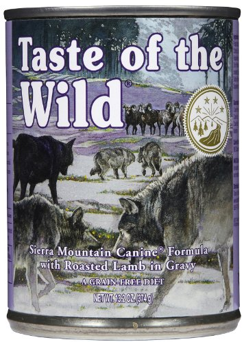Taste of the Wild Sierra Mountain Grain-Free Canned Dog Food (12, 13.2 oz cans)