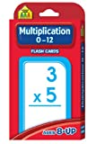 Multiplication 0-12 Flash Cards [Case of 15]