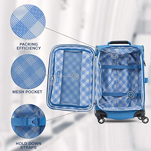 Travelpro Luggage Carry-On, Azure Blue