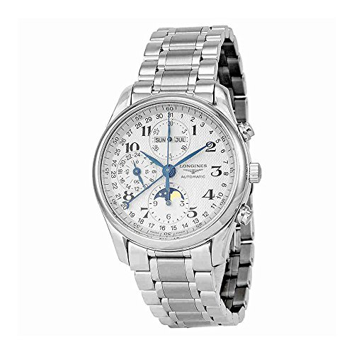 Longines Master Collection Silver Dial Chronograph Stainless Steel Mens Watch L26734786