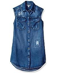 Calvin Klein Lyocell - Vestido para niña