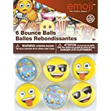 Emoji Bouncy Ball Party Favors, 6ct