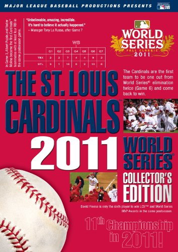 St. Louis Cardinals: 2011 World Series Collectors Edition (Cracker Jacks Gift Box)