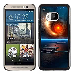 Stuss Case / Funda Carcasa protectora - Rolling Ball Of Fire - HTC One M9
