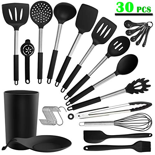 20% off silicone cooking utensil set