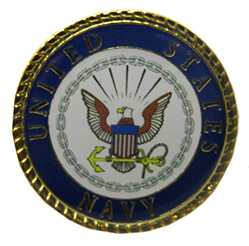 Wholesale Pack of 24 United States Navy Emblem 15/16