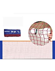 Ramingt-Home Red de Tenis 6,1M / 20 pies de Nylon Plegable portátil Badminton Red de Voleibol Tenis Fútbol Tenis Fútbol Net Net por Tenis Exterior (Color : Red, Size : Ones)