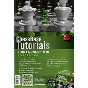 Chess Base tutoriales eröffnungen banda 1: abierto Juegos 4