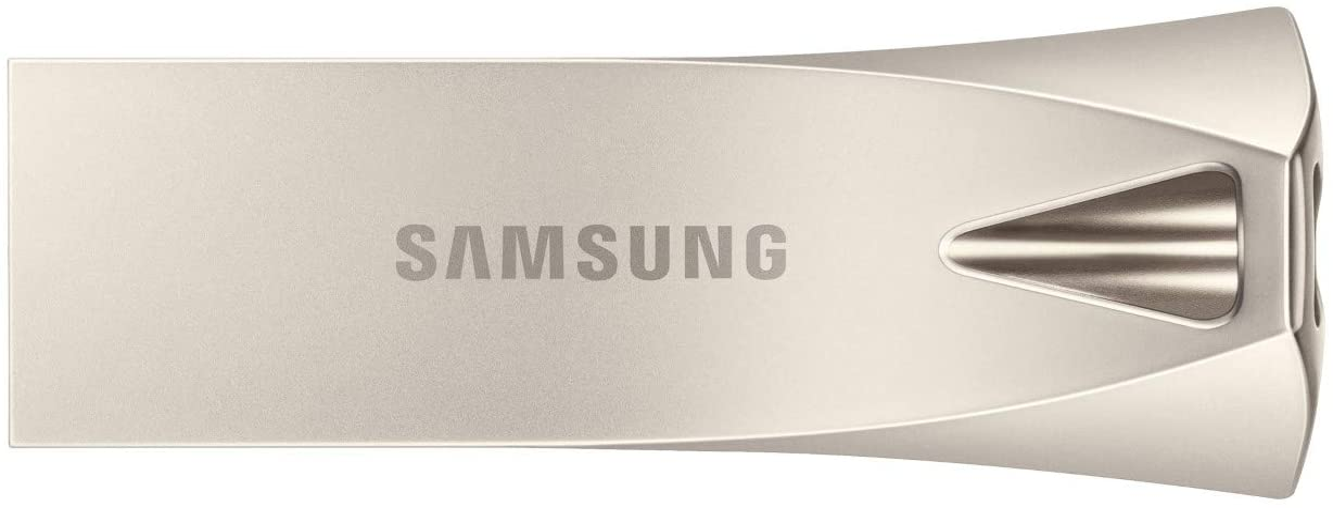 Type-A fino a 200 MB//s 32 GB Samsung Memorie MUF-32be3// Bar Plus USB Flash Drive Memoria Stick USB 3.1 Champagne