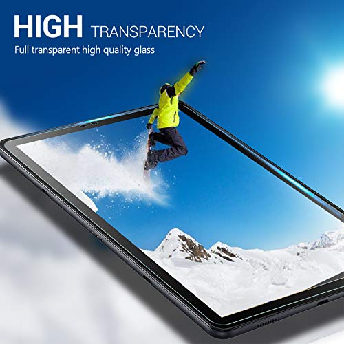 IVSO Samsung Galaxy Tab S4 10.5 Tablet Screen Protector Tempered-Glass HD Clear Scratch Resistant for Samsung Galaxy Tab S4 SM-T830 Wi-Fi & SM-T835 4G LTE 10.5-inch 2018 Release Tablet by IVSO (Image #4)