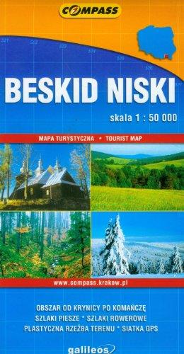 Beskid Niski mapa turystyczna Beskid Niski mapa turystyczna