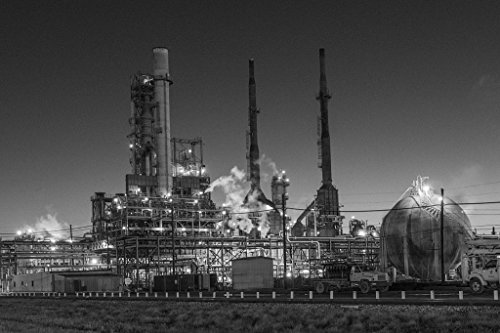 Vintography 18 x 24 B&W Photo of Dusk View of The Valero, used for sale  Delivered anywhere in USA