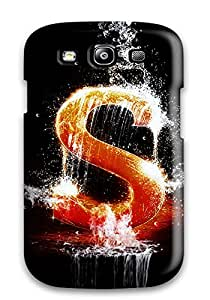 Best Artistic Durable Galaxy S3 Tpu Flexible Soft Case
