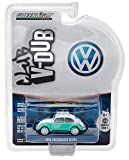 dub model cars - New 1:64 CLUB V-DUB SERIES 4 ASSORTMENT - GREEN 1945 VOLKSWAGEN BEETLE WITH ROOF RACK AND SURFBOARDS Diecast Model Car By Greenlight