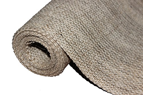 Burlapper Burlap Roll (12 Inch x 120 Inch, Natural) (Halloween Craft For 4th Grade Class)