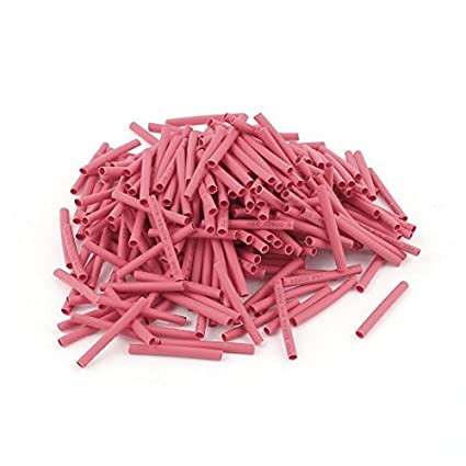 Amazon.com: eDealMax 300pcs Relación DE 2 mm 2: 1 Red de poliolefina termorretráctiles Cable Wire Wrap: Home & Kitchen