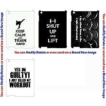 Apple Ipad 2nd 3rd 4th Air Air2 Ipad Mini custom case cover Keep Calm lift weight gym workout