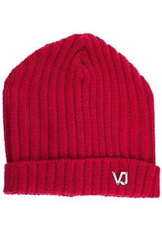 Versace Jeans men's wool beanie hat red US size UNI - Mens Hat Versace