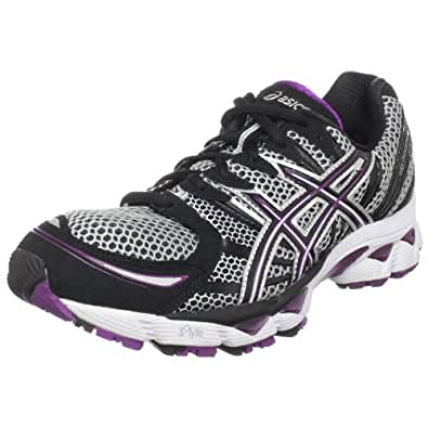 ASICS Women's GEL-Nimbus 12 Running Shoe,Lightning/Black/Plum,11.5 M US
