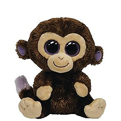 Image Unavailable. Image not available for. Color  Ty Inc Beanie Boo Plush  Stuffed Animal Coconut Brown Monkey d20d142c629