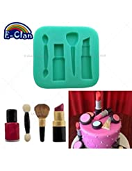 Cosmetic Diyclan silicone fondant cake molds chocolate mold