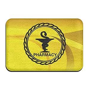 jfd farmacia insignia serpiente antideslizante Felpudo 60x 40cm