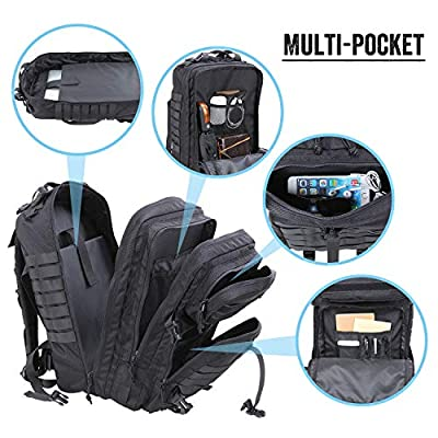 Lifewit 40L Military Tactical Backpack Molle Bug Out Bag Army Rucksacks 3 Day Assault Laptop Pack for Outdoor Hunting Hiking Camping Trekking