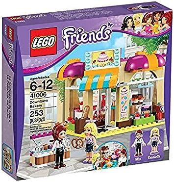 LEGO Friends - La pastelería playset, Juego de construcción (41006): Amazon.es: Juguetes y juegos