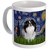 CafePress - Starry Night & Japanese Chin Mug - Unique Coffee Mug, Coffee Cup