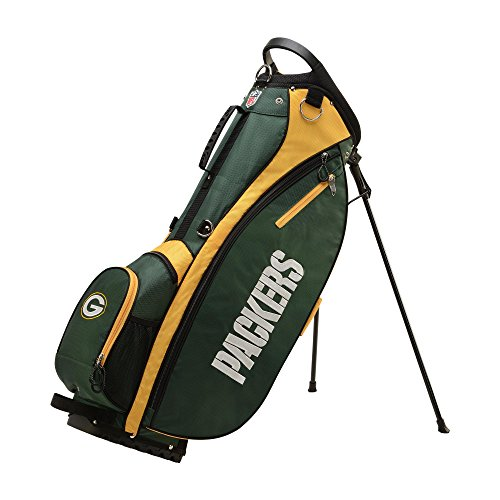 Wilson 2018 NFL Carry Golf Bag, Green Bay (Wilson Green Bay Packers Official Football)