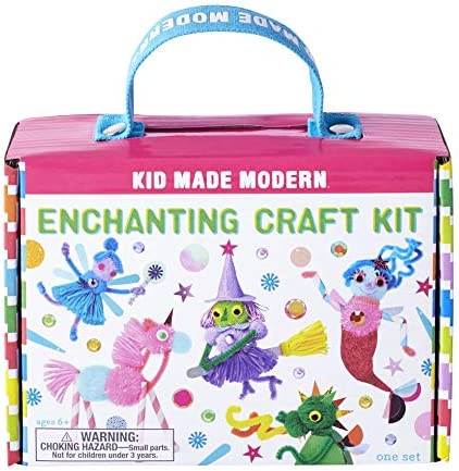 Kid Made Modern Enchanting Craft Kit - Children`s Storybook Setting Creativity