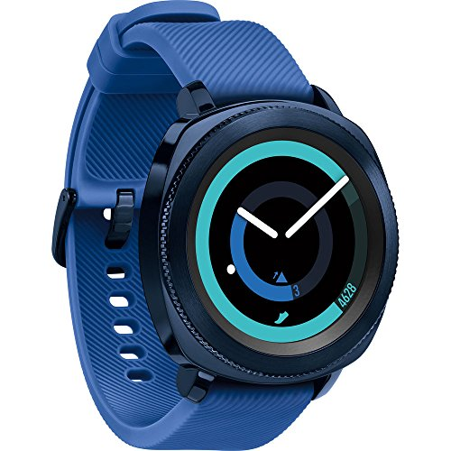 Samsung Gear Sport Activity Tracker (Blue) with Heart Rate Monitor, Kodak Case, Pro Bluetooth Earbuds, and 1 Year Extended Warranty Bundle by Beach Camera (Image #1)