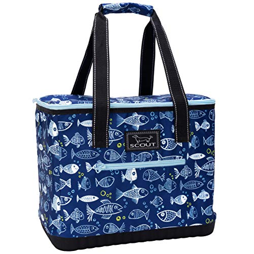 SCOUT The Stiff ONE Insulated Soft Cooler Bag, Leak Proof Large Picnic or Beach Cooler with Hard Bottom (Multiple Patterns Available) ()