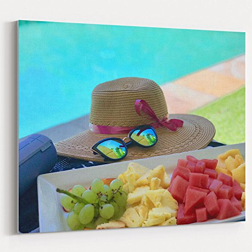 Westlake Art - Bling Food - 11x14 Canvas Print Wall Art - Canvas Stretched Gallery Wrap Modern Picture Photography Artwork - Ready to Hang 11x14 (Great Republic Canvas Cap)