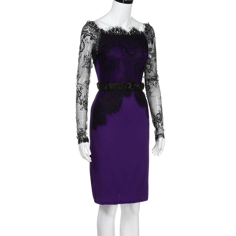 Kleid Damen Btruely Elegant Rockabilly Kleid Trägerlos Partykleid ...
