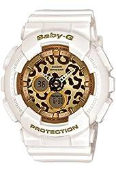 Casio Baby-G Animal Print Graphic Dial Resin Quartz Ladies Watch BA120LP-7A2