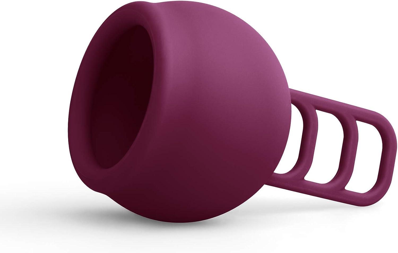 Merula Cup galaxy - Copa menstrual (silicona, 10 g), color morado