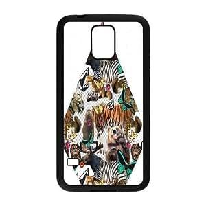 Samsung Galaxy S5 Phone Case Black volcom design BVGJ8779002