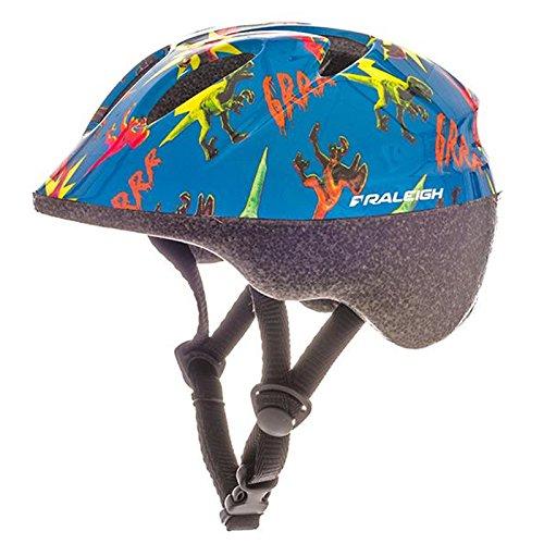 Raleigh Rascal Dinosaur Kids Bike Helmet - Blue - XX Small (44-50cm)