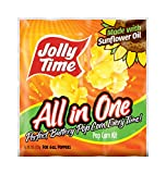 6 oz all in one popcorn - Jolly Time All-in-One Popcorn Machine Kits with Sunflower Oil, Kernels & Salt for 6 oz. Kettles (Pack of 36)