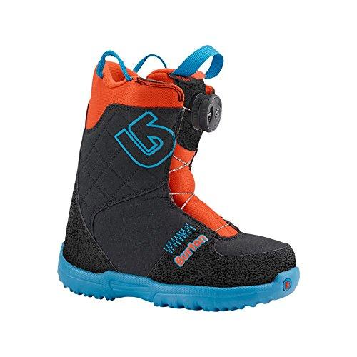 Burton Jungen Snowboard Boots Grom Boa, Webslinger Blue, 11, 15089100418
