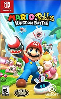 Amazon Com Mario Rabbids Kingdom Battle Nintendo Switch