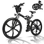 51LomHfIcyS. SS150 Bicicletta Elettrica ,Adulti Bici Elettriche Mountain Bike,batteria 36V 12.5Ah rimovibile,city Pendolare/trekking Bike Cambio a 21 Velocità E bike