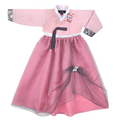 38cf60fc969f Korean Beautiful Girl's Traditional Clothing Hanbok Dress Baby Girl Clothes  Birthday New Year Party Seo-
