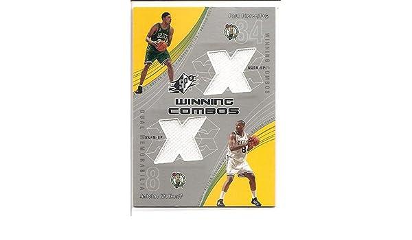 Paul Pierce   Antoine Walker Boston Celtics 2002-03 Upper Deck Winning  Combos Dual Jersey Basketball Card  PP-AW at Amazon s Sports Collectibles  Store 2681e1972