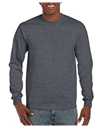 Gildan Mens Men's Ultra Cotton Jersey Long Sleeve Tee