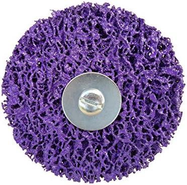 Disco abrasivo , disco Rostio CSD Disco de limpieza CBS removedor de óxido LILA Púrpura: Amazon.es: Bricolaje y herramientas
