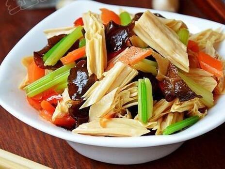 Tofu Skin dried bean curd stick Fu Zhu 1200 grams from China (中国腐竹)